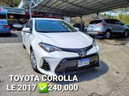 2017 Toyota Corolla en venta.